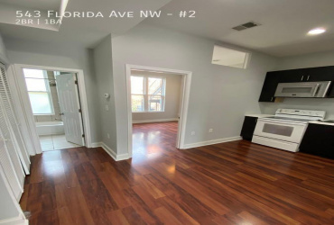 543 Florida Ave NW,Washington,District Of Columbia 20001,2 Bedrooms Bedrooms,2 BathroomsBathrooms,Condo,Florida Ave,1278